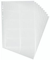 Visitekaarttassen Durable Visifix A4 t.b.v. model 2384 en 2388 capaciteit 200 visitekaarten 58x90mm.