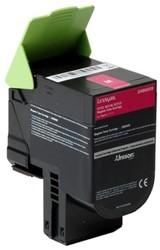 Inktcartridge Lexmark 24B6009 magenta.