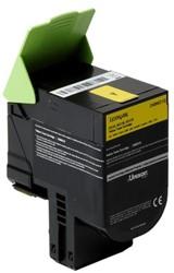 Inktcartridge Lexmark 24B6010 geel.