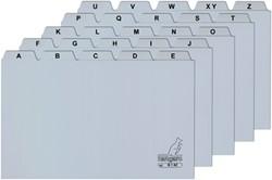 Systeemkaart alfabet Kangaro 8x13cm plastic.