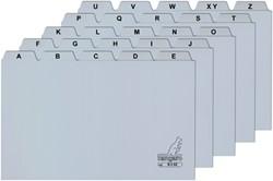 Systeemkaart alfabet Kangaro 21x29.7cm plastic.