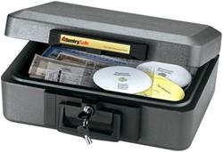 Brandwerende box SentrySafe buitenmaat: 159x387x308mm binnenmaat: 97x330x219mm kleur antraciet.