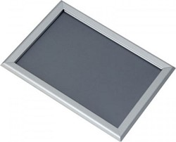 Kliklijst A3 25mm lijst aluminium frame en klikprofielen.