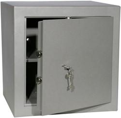 Privékluis model PT2,afmeting buitenmaten (hxbxd) 450x450x380mm.kleur:grijs RAL 7035.