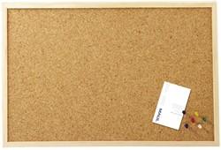 Prikbord Maul 60X40cm kurk houten frame #70.