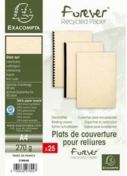 Schutbladen Exacompta A4 karton ivoor 25 stuks.
