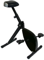 Deskbike basic zwart voor dynamisch werken.