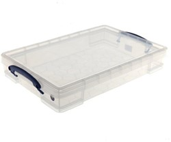 Opbergbox Really Useful inhoud 10 liter 340x85x520mm (bxdxh).