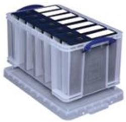 Opbergbox Really Useful inhoud 35 liter XL 390x345x480mm (bxhxd).