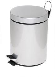 Pedaalemmer Alco zilver 5 liter.