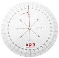 Koershoekmeter.