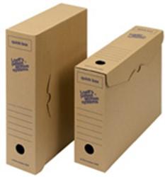 Archiefdoos Loeff Quick box A4 335x240x80mm 8 stuks.