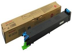 Toner Sharp MX-31GTCA blauw.