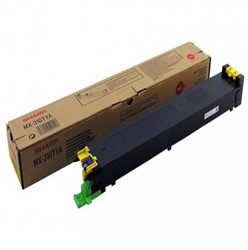 Toner Sharp MX-31GTYA geel.