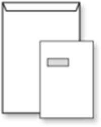 Venster envelop EA4 220x312mm 120 grams wit zelfklevend met venster links 40x110mm 250 stuks .
