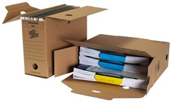 Archiefdoos Loeff Universeel box 3020 340x250x120mm 8 stuks.