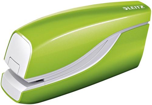 Nietmachine Leitz WOW NeXXt elektrisch 10 vel E1 groen 55661054 (model/kleur 2021).