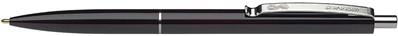 Balpen Schneider K15 met drukknop zwart.