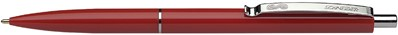 Balpen Schneider K15 met drukknop rood.