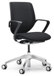 Bureaustoel Giroflex 313-8539 stof SP912 zwart.
