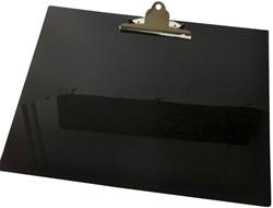 Klembord A3 liggend met klem zwart.