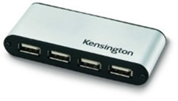 Pocket usb 2.0 hub Kensington 4-poorts.