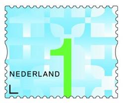 Postzegelrol 200x nr. 1.