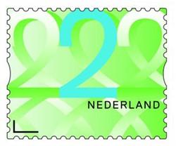 Postzegelrol 100x nr. 2.