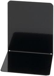 Boekensteun Maul gesloten metaal 140x120x140mm zwart 2 stuks.