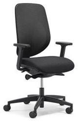 Bureaustoel giroflex 353-8029 G490 zwart netbespanning.