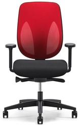 Bureaustoel Giroflex 353-8029 G492 rood netbespanning.