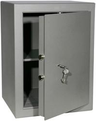 Privékluis model PT-3 afmeting buitenmaten (hxbxd) 600x450x380mm kleur:grijs RAL 7035.