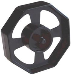 Kern zwart t.b.v. Kangaro plakbandhouder voor 66m rollen.