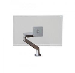 Monitor arm R-Go standaard 1 scherm maximaal 32 inch kleur zilver.