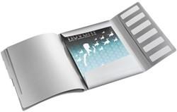Sorteermap Leitz Style A4 6-tabs kunststof poolwit.