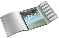 Sorteermap Leitz Style A4 6-tabs kunststof zeegroen.