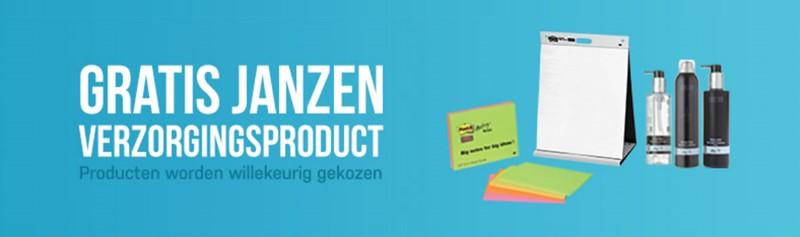 Gratis luxe Janzen verzorgingsproduct bij 3M