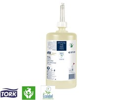Zeep Tork premium non-perfumed 1 liter systeem S1 (420701).