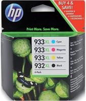 Inktcartridge HP C2P42AE 932XL/933XL zwart + 3 kleuren HC.-2