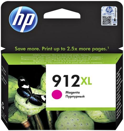 Inktcartridge HP 3YL82AE 912XL magenta.