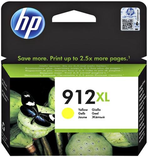 Inktcartridge HP 3YL83AE 912XL geel.