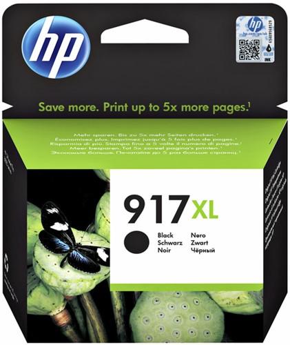 Inktcartridge HP 3YL85AE 917XL zwart.