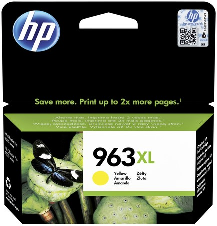 Inktcartridge HP 3JA29AE 963XL geel HC.