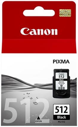 Inktcartridge Canon PG-512BK zwart HC.