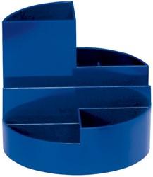 Pennenkoker Maul Roundbox blauw.
