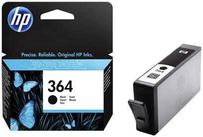 Inktcartridge HP CB316EE 364 zwart.