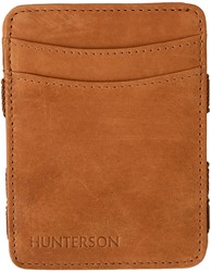 Magic Wallet Hunterson RFID Cow leather cognac.
