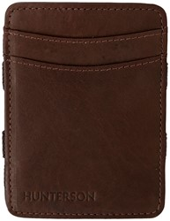 Magic Wallet Hunterson RFID Cow leather brown.