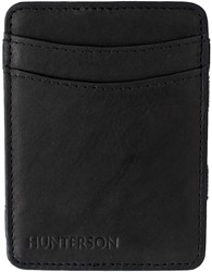 Magic Wallet Hunterson RFID Cow leather black.