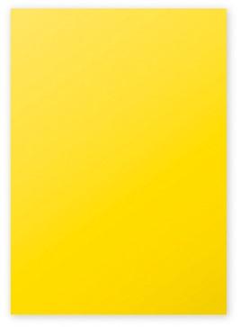 Gekleurd papier Pollen A4 120 grams zonnegeel 50 vel.
